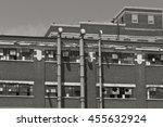 abandoned urban factory   worn  ... | Shutterstock . vector #455632924