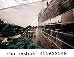 nice view from the restaurant... | Shutterstock . vector #455633548