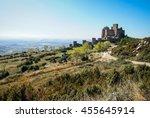 image of loare castle  huesca ... | Shutterstock . vector #455645914