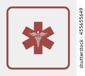 emergency medicine symbol | Shutterstock . vector #455655649