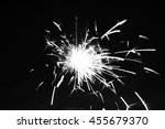 photograph of the sparkler with ... | Shutterstock . vector #455679370