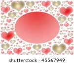 valentines postcard | Shutterstock . vector #45567949
