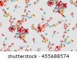 trendy seamless floral pattern... | Shutterstock .eps vector #455688574