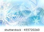 beautiful christmas blue...   Shutterstock .eps vector #455720260