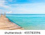 sunny serenity living is easy  | Shutterstock . vector #455783596