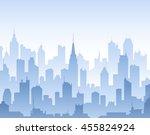blue high detail vector...   Shutterstock .eps vector #455824924