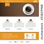 web site template with a banner ...