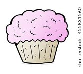 cartoon cupcake | Shutterstock . vector #455831560