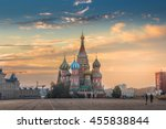 Moscow Russia Red Square View...