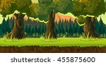 sunset forest game background