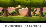 forest and river game background