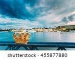 skeppsholmsbron   skeppsholm... | Shutterstock . vector #455877880