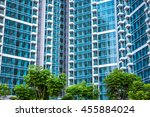 new modern property close up    | Shutterstock . vector #455884024