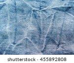 close up blue jeans  denim... | Shutterstock . vector #455892808