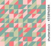 a green orange half square... | Shutterstock .eps vector #455896084