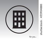 building vector icon   Shutterstock .eps vector #455904880