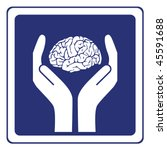 mental health sign vector | Shutterstock .eps vector #45591688