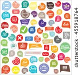 badges and labels collection | Shutterstock .eps vector #455918764