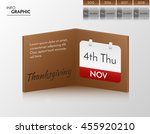 brown vector banner for you own ... | Shutterstock .eps vector #455920210