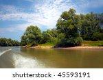 danube delta landscape in spring   Shutterstock . vector #45593191