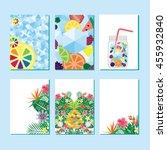 vector illustration   page... | Shutterstock .eps vector #455932840