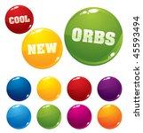 Vector Multicolored Orbs  Very...