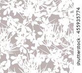botanical pattern seamless... | Shutterstock .eps vector #455935774