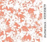 botanical pattern seamless... | Shutterstock .eps vector #455935879
