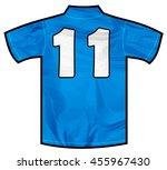 Number 11 Eleven Blue Sport...