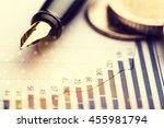coin. | Shutterstock . vector #455981794