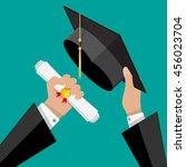 concept of education.... | Shutterstock .eps vector #456023704