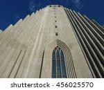 church in reykjavik | Shutterstock . vector #456025570