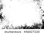 grunge dust speckled sketch... | Shutterstock .eps vector #456027220