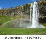 rainbow bridge | Shutterstock . vector #456074650