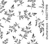 seamless herb pattern. abstract ...   Shutterstock .eps vector #456077998