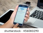 chiang mai thailand   july 21 ... | Shutterstock . vector #456083290