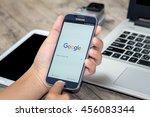 chiang mai thailand   july 21 ... | Shutterstock . vector #456083344