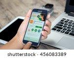 chiang mai thailand   july 21 ...   Shutterstock . vector #456083389