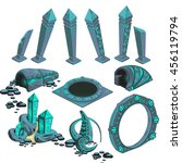 Set Of Magical Artifacts With...