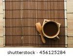 Coffee  Wood Cup Wood Spoon ...