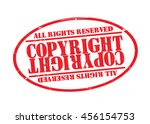 grunge rubber stamp with text ...   Shutterstock .eps vector #456154753
