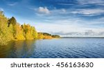 Lake Landscape During Fall...
