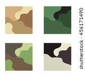 vector set of different... | Shutterstock .eps vector #456171490