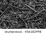 pile of iron nails background | Shutterstock . vector #456182998