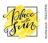 Place In The Sun  Square Yello...