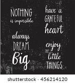 vector hand lettered...   Shutterstock .eps vector #456214120