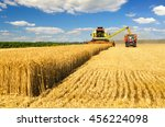 Harvester Combine Harvesting...