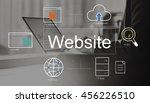 website world player search... | Shutterstock . vector #456226510