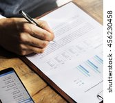 Small photo of Business Financing Accounting Banking Concept
