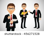 businessman | Shutterstock .eps vector #456271528